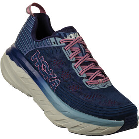 Hoka One One Bondi 6 Running Shoes Women marlin/blue ribbon